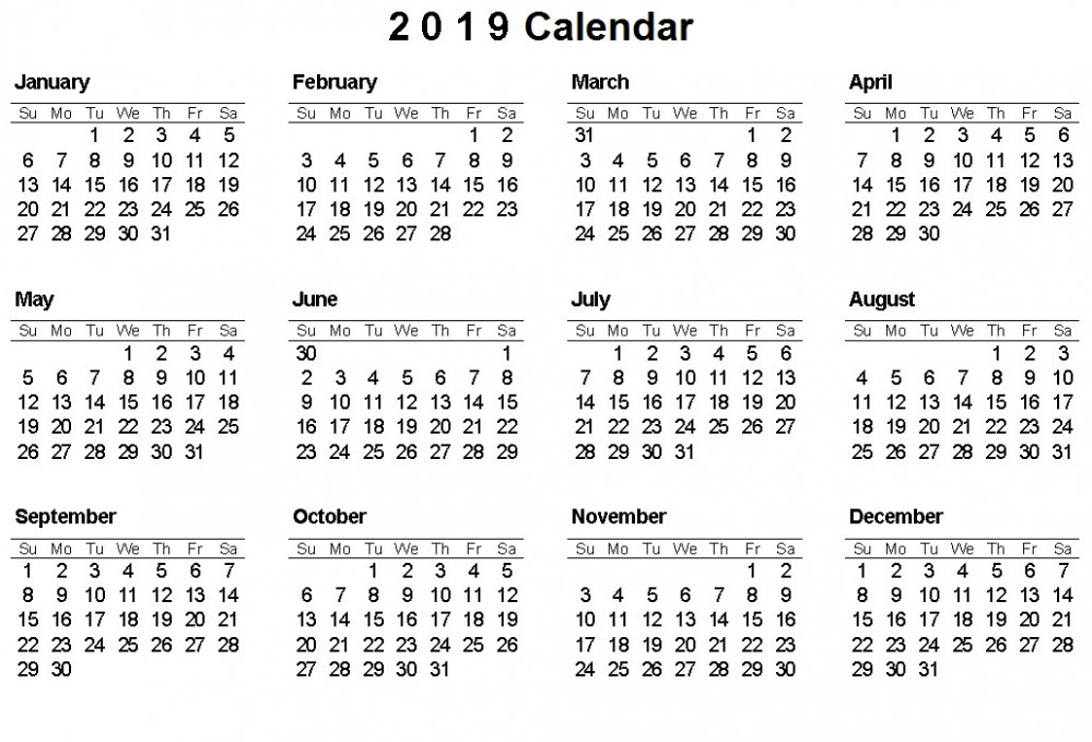 Free Printable Calendar 16 With Holidays – USA, Canada, and India ..