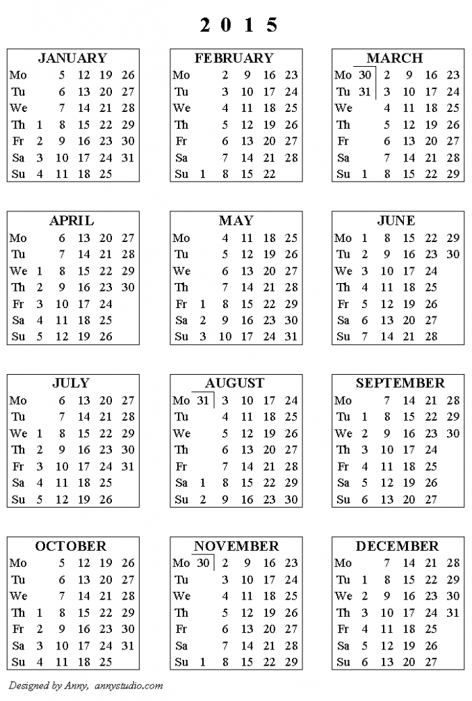 Free Printable Calendars and Planners 17, 17 and 17