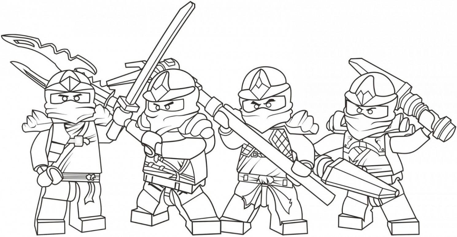 Free Printable Ninjago Coloring Pages 17 With Free Printable Ninjago ...