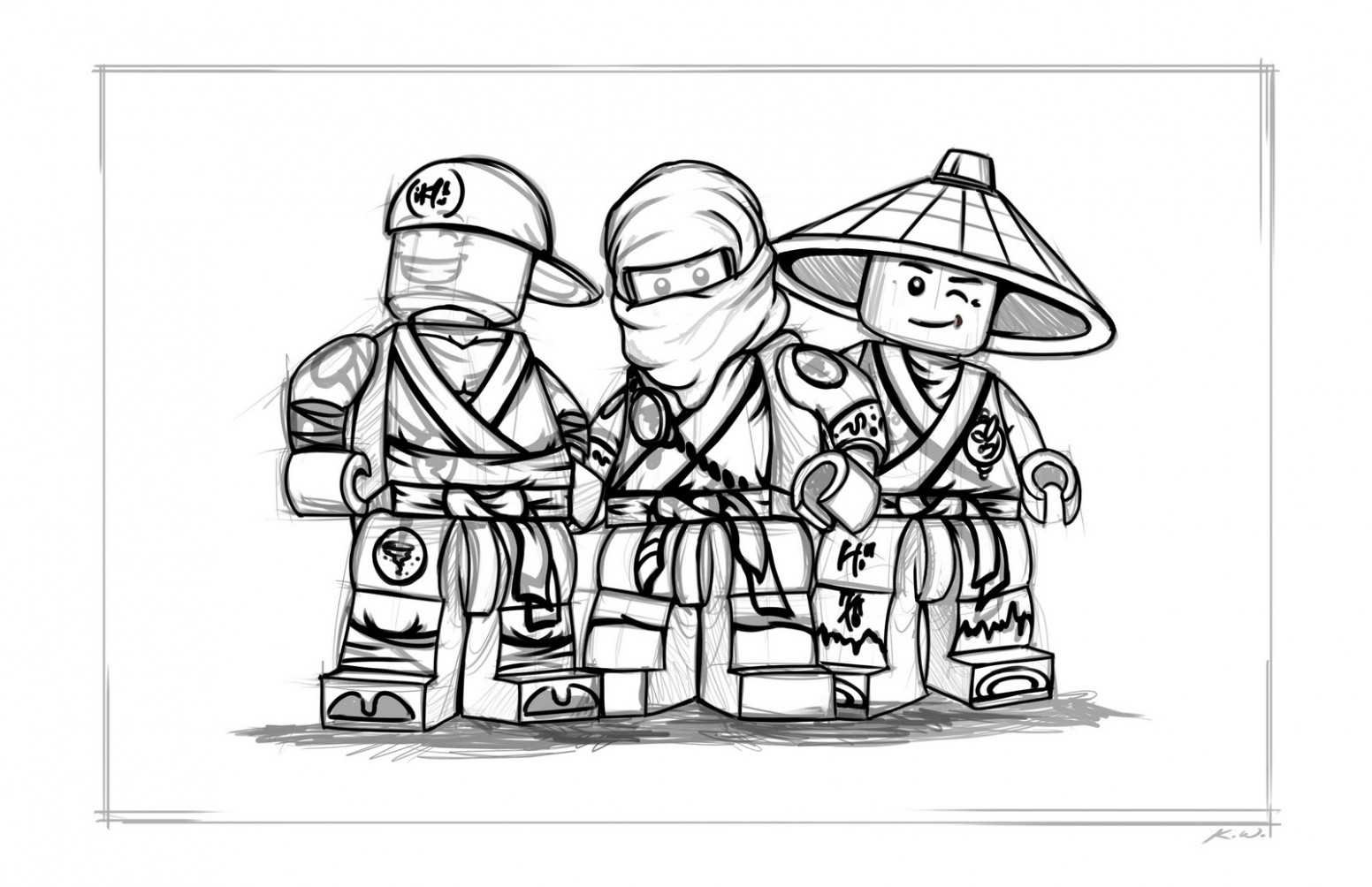 Free Printable Ninjago Coloring Pages For Kids - ninjago coloring book