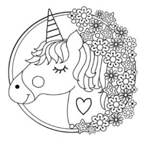 Free Printable Unicorn Colouring Pages for Kids - Buster Children's ...