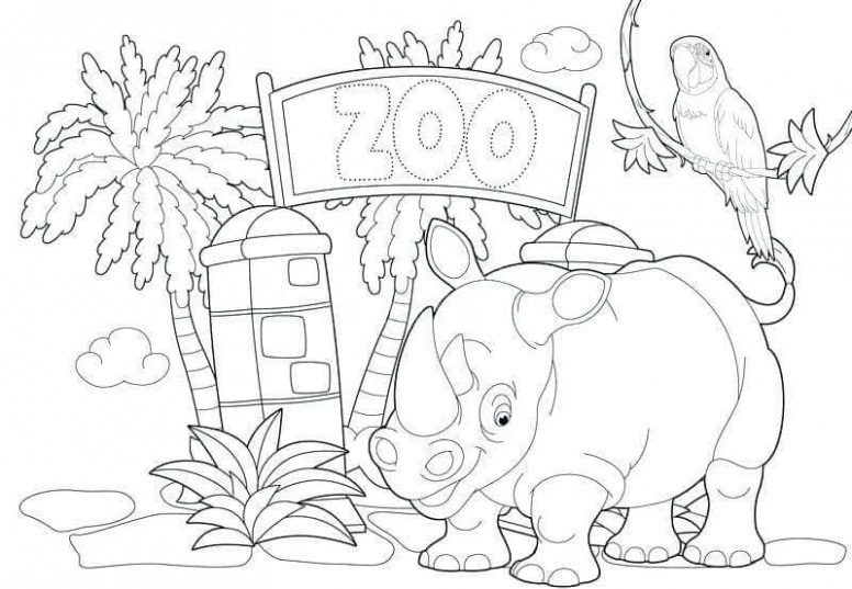 Free Printable Zoo Coloring Pages For Kids – zoo coloring book printable