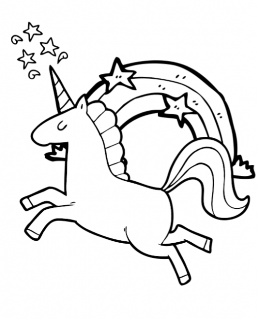 Free Super Cute Printable Unicorn Coloring Book Pages ⋆ Fun Thrifty Mom – unicorn coloring book