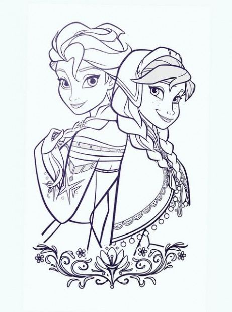 Frozen Coloring Book | Best Princess Stuff! | Pinterest | Frozen ..