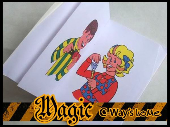Fun Magic Coloring Book Decorations Props Coloring Sheets 20 | Koe ..