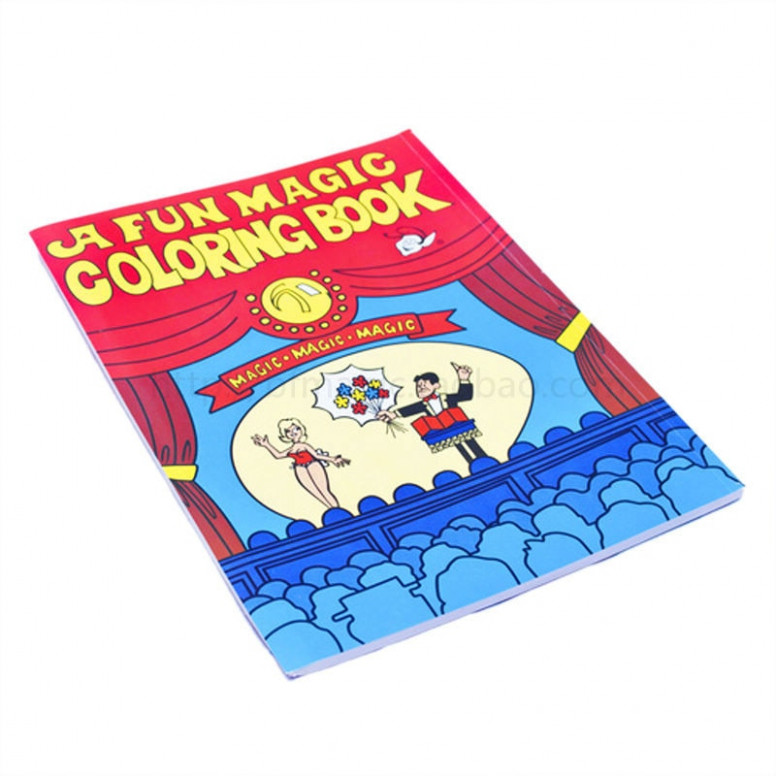 Fun Magic Coloring Book Easy and Colorful big one magic trick ...