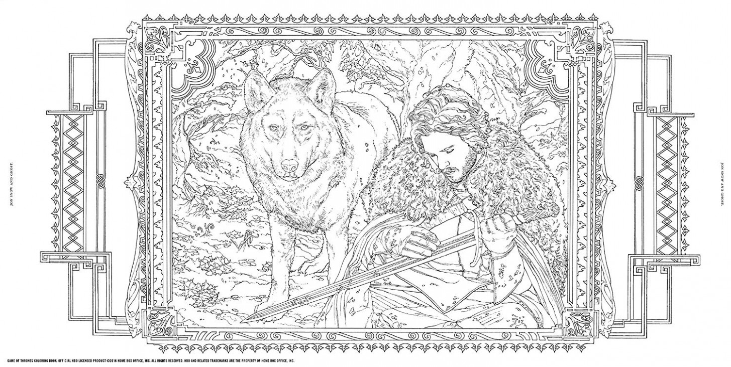 Game of Thrones Coloring Book: Amazon