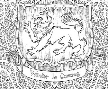 Game Of Thrones Coloring Book – game of thrones coloring book