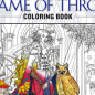 GAME OF THRONES Coloring Book Will Probably Require Lots of Red ...