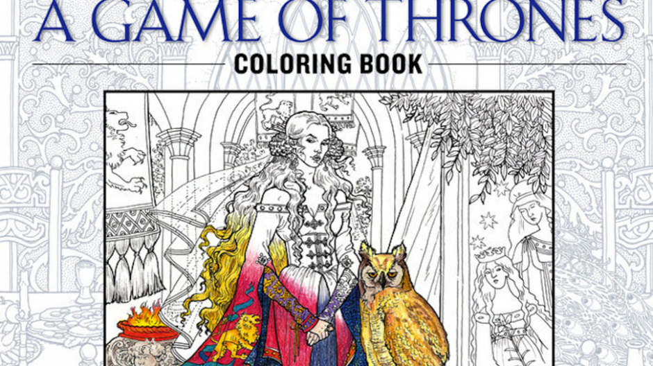 GAME OF THRONES Coloring Book Will Probably Require Lots of Red ..