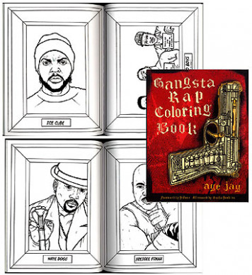 Gangsta Rap Coloring Book – gangsta rap coloring book