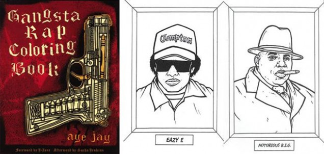 Gangsta Rap Coloring Book - On my Christmas Wish List! | Random ..