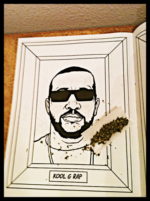 GANGSTA RAP COLORING BOOK | via PhotoToaster | BISCUITS – gangsta rap coloring book