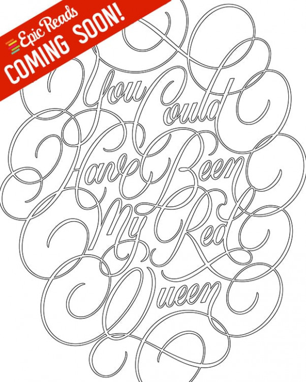 Get an Exclusive Look at the Red Queen Coloring Book – red queen the official coloring book