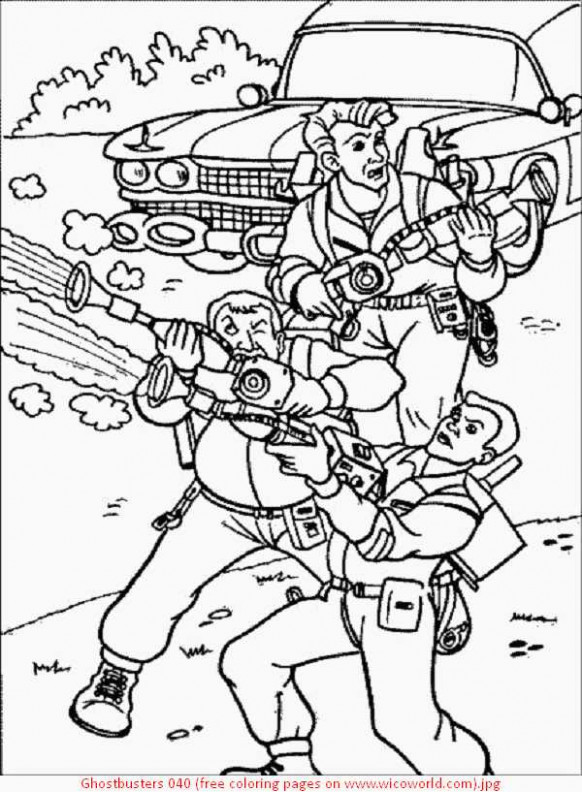 ghostbusters coloring book | Coloring Pages – ghostbusters coloring book
