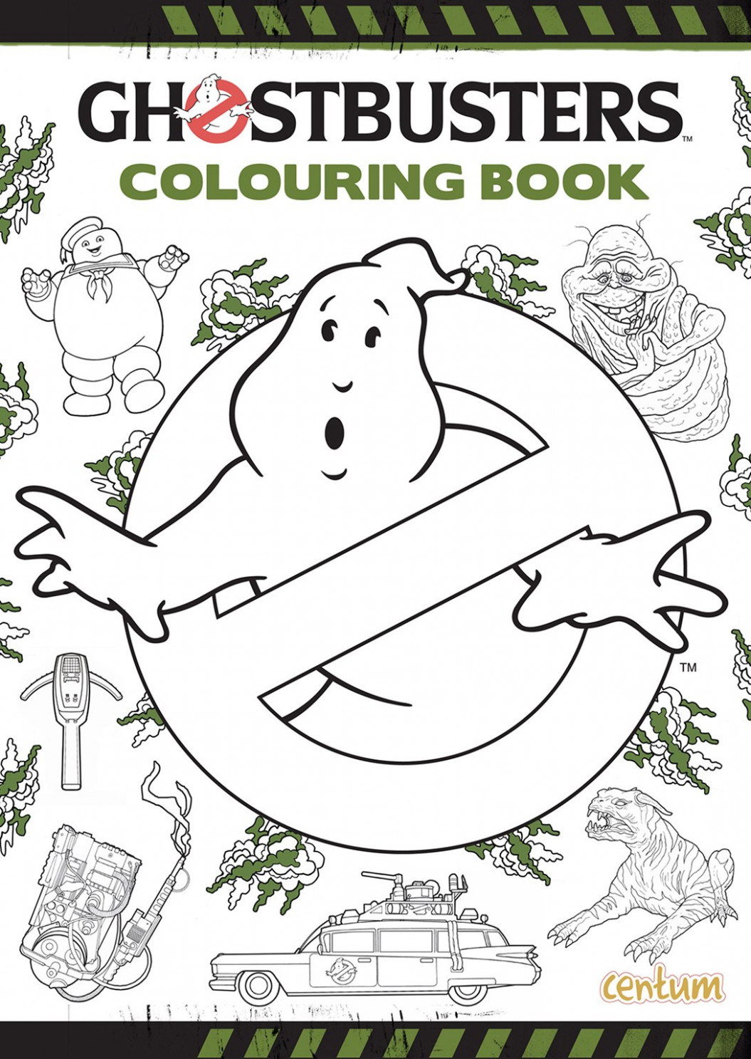 Ghostbusters Colouring Book: 12: Amazon