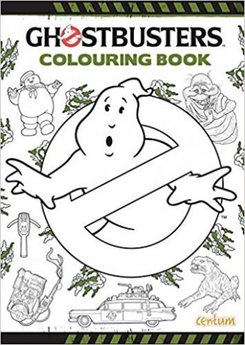 Ghostbusters Colouring Book: 12: Books – Amazon