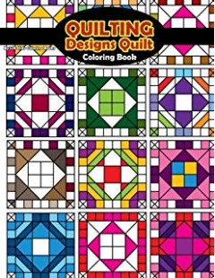 Grandma's Quilts: Coloring Books for Grown-Ups, Adults (Wingfeather ...