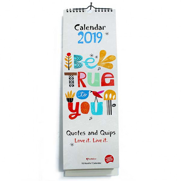 Happy Year 19 Calendar at Best Prices in India @ archiesonline.com