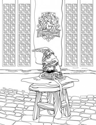 Harry Potter Coloring Book For Adults in EPUB, PDF  – harry potter coloring book pdf
