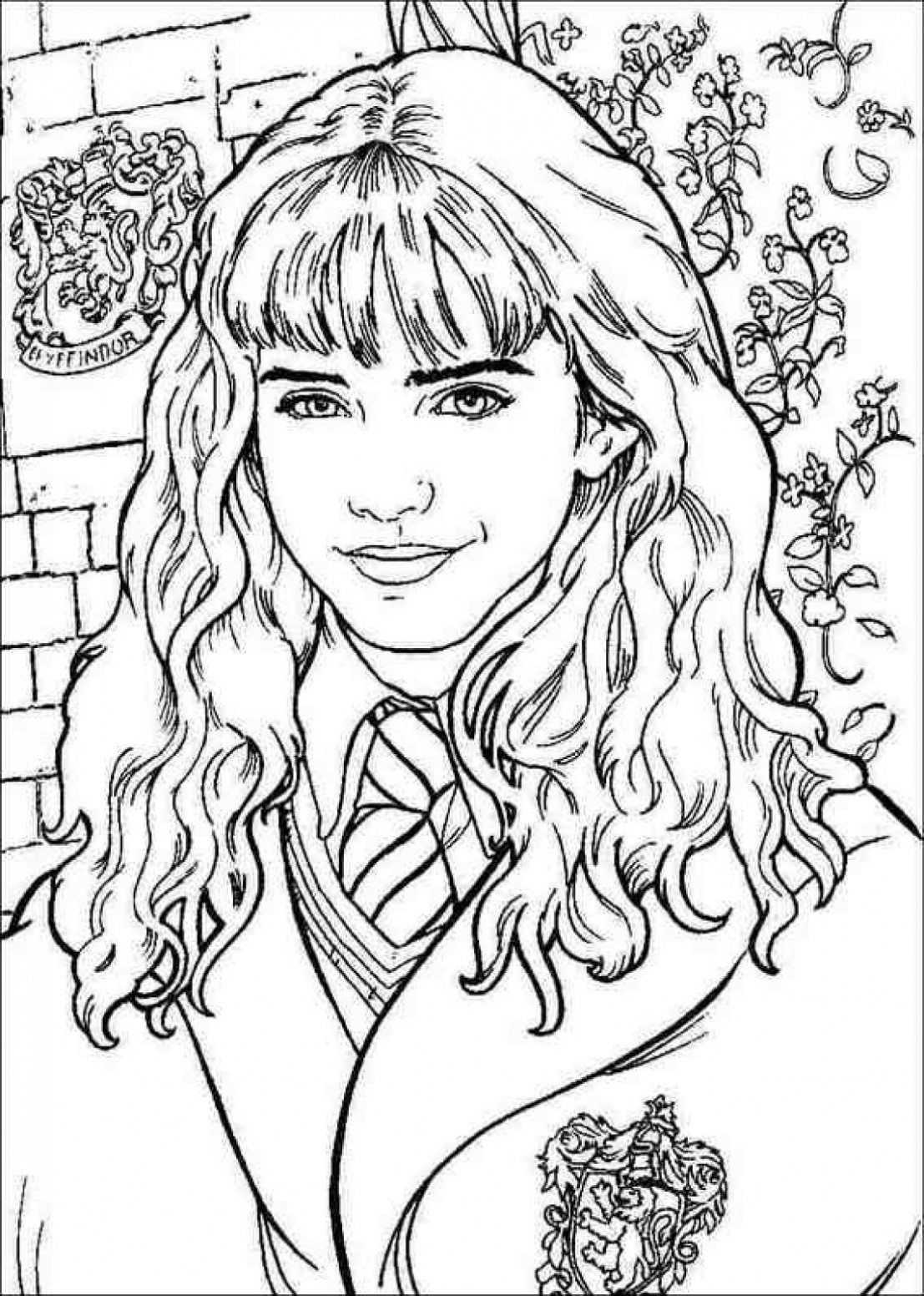 Harry Potter Coloring Pages Pdf Download | Coloring Book - harry potter coloring book pdf