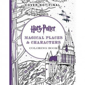Harry Potter Colouring Book #13 Magical Places  – harry potter coloring book