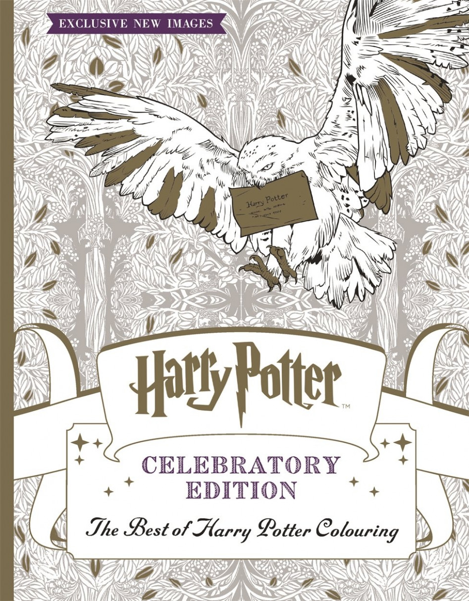 Harry Potter Colouring Book Celebratory Edition: The Best of Harry ..