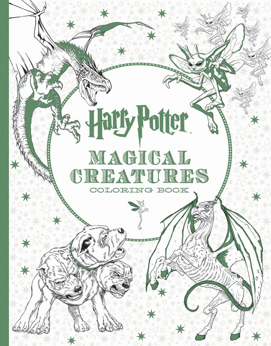 Harry Potter Magical Creatures Coloring Book: Amazon.de: Scholastic ..