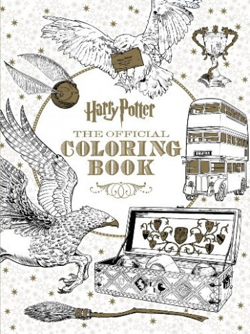 Harry Potter - The Official Coloring Book by Scholastic (Paperback ...
