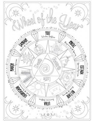 Have you always known you were magic? The Coloring Book of Shadows ...