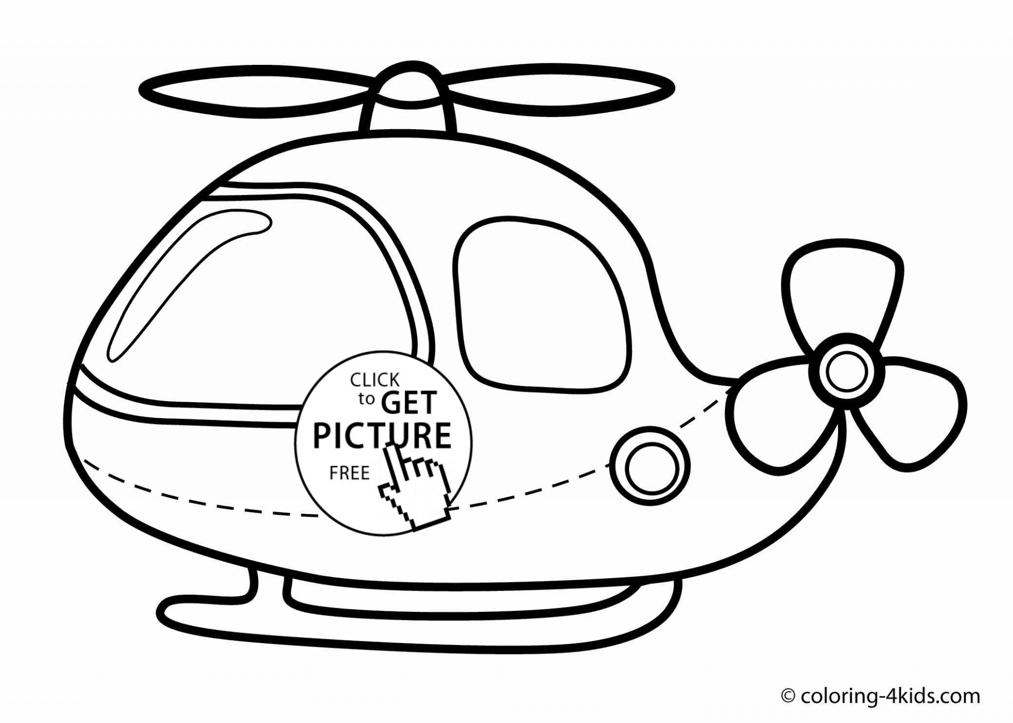 Helicopter coloring pages, helicopter coloring book for kids ..