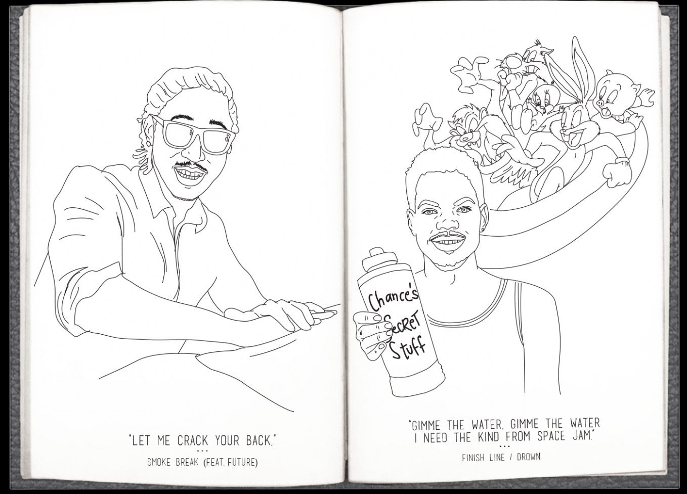 Here's, Very Literally, A Chance The Rapper 'Coloring Book' For You ...