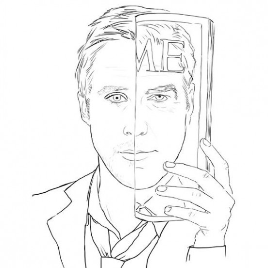 Hey Girl, It's a Ryan Gosling Coloring Book | crafts that take up ...
