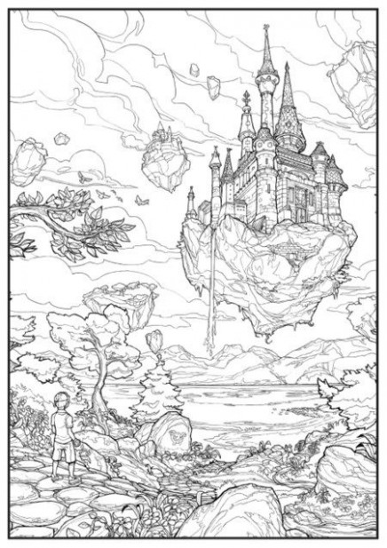Hottest New Coloring Books: December 14 Roundup   Illustration ..