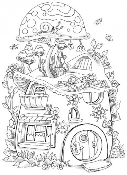 Hottest New Coloring Books: February 20 Roundup - Cleverpedia - nice little town coloring book