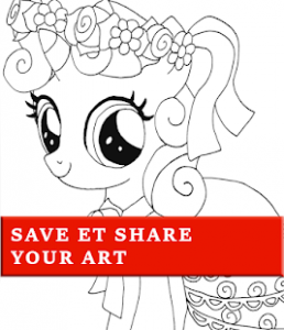 How to color My Little Pony Coloring Book-MLP – Apps bei Google Play