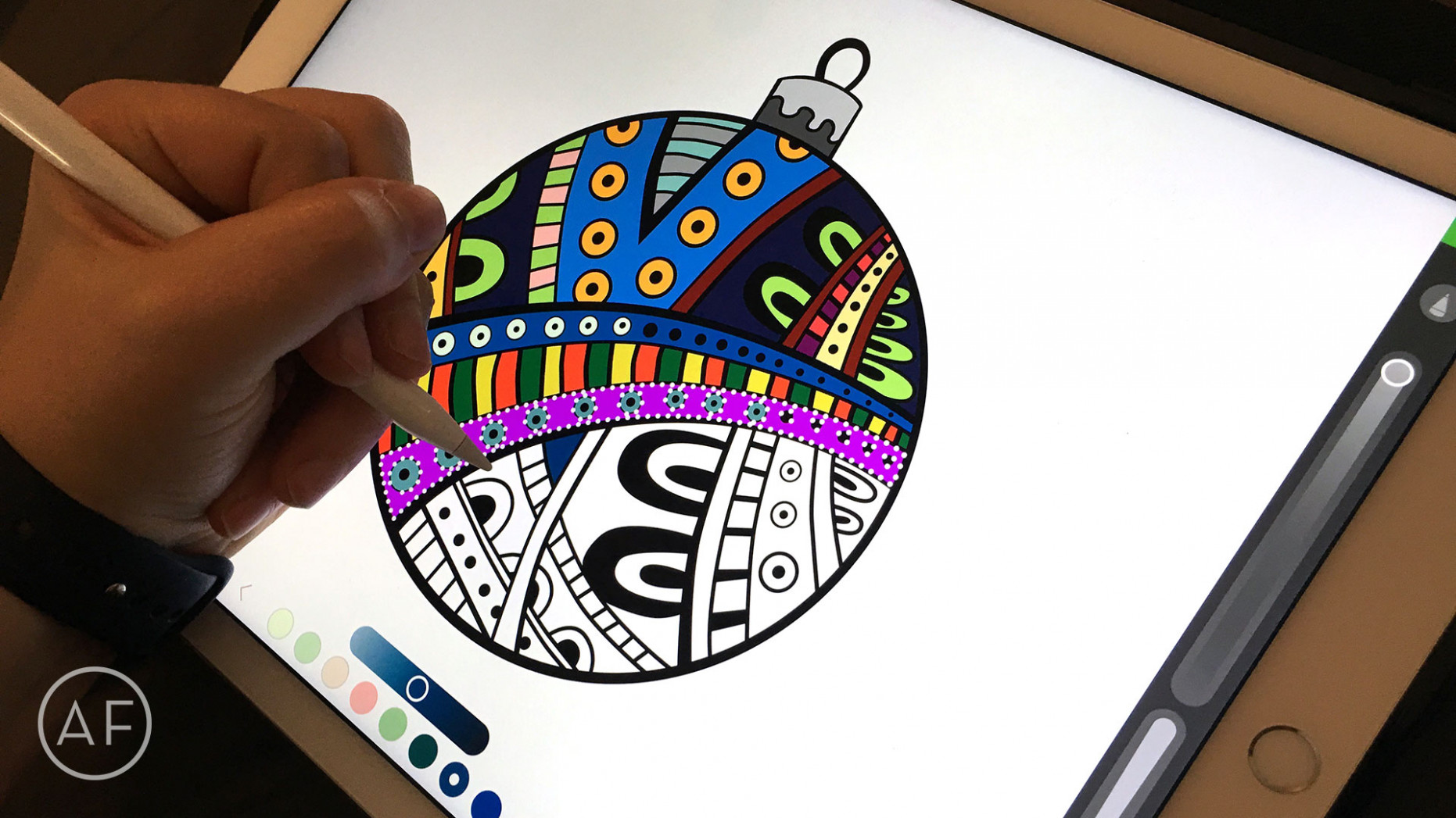 How to color with the iPad Pro and Apple Pencil – ipad coloring book