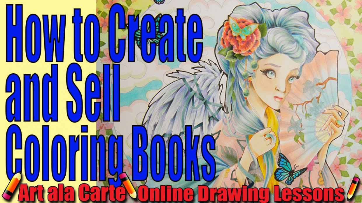How to Create and Sell your own Coloring Books Tips and Tricks – YouTube – how to create a coloring book