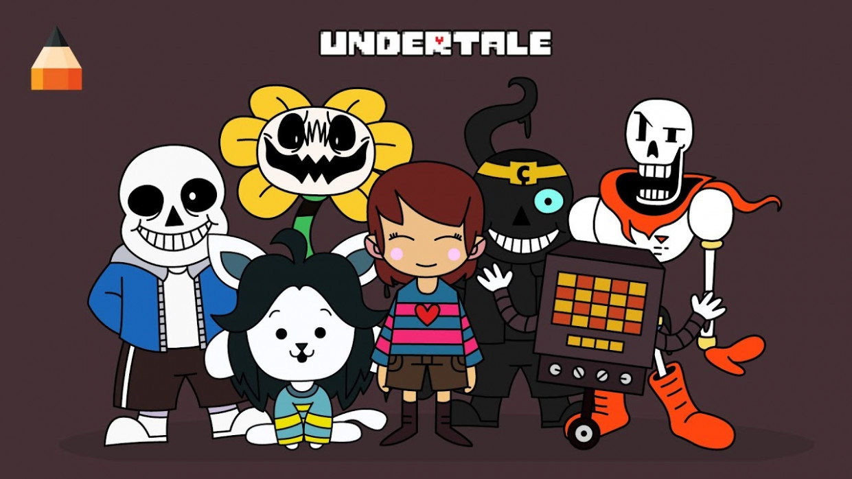 How To Draw Undertale Characters | Undertale Coloring Book - YouTube - undertale coloring book