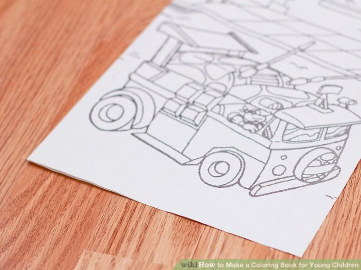 How to Make a Coloring Book for Young Children: 19 Steps – how to make a coloring book