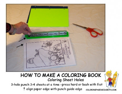 How To Make A Coloring Book | Make Your Own Coloring Books | Free ...