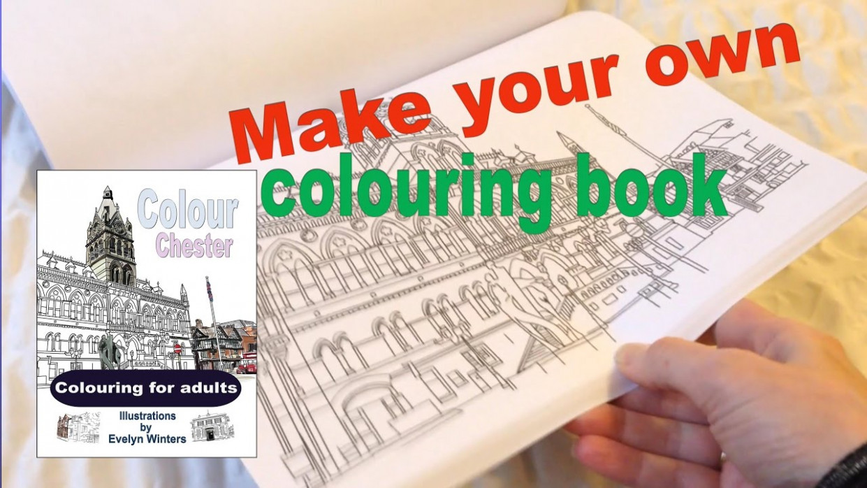 How to make an adult colouring book for FREE - Createspace - YouTube - how to make a coloring book