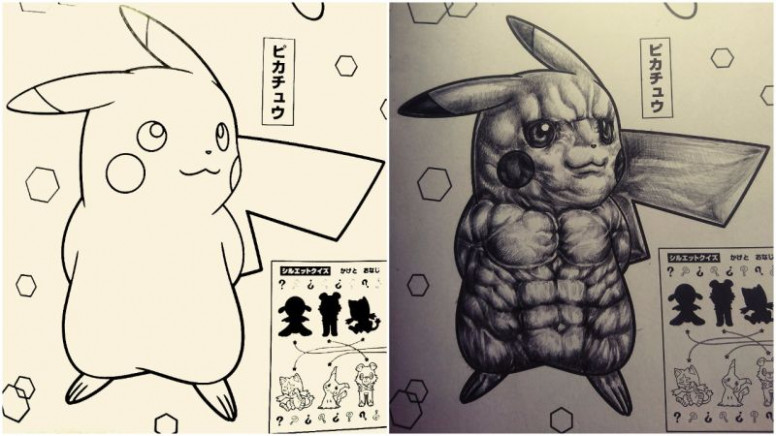 How To Make Pokémon Coloring Books Horrifying – how to make a coloring book
