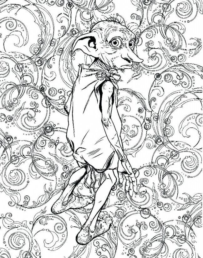 Idea Harry Potter Coloring Pages Pdf And Harry Potter Coloring Books ...