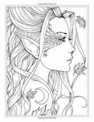 Image result for Fairies Coloring Book by Jade Summer coloring sheet ..