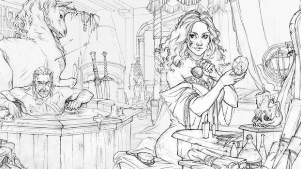Image result for The Witcher Adult Coloring Book | ART | Pinterest ..