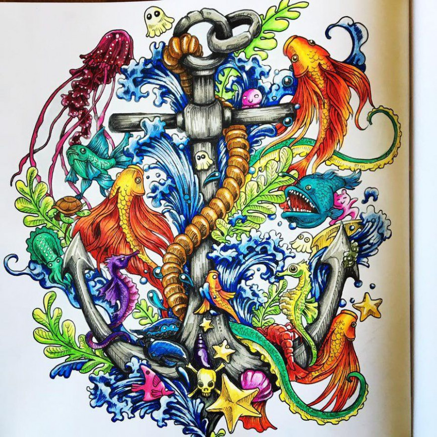 Imagimorphia colouring book by PixelnSprites | Coloring Book Pages ...
