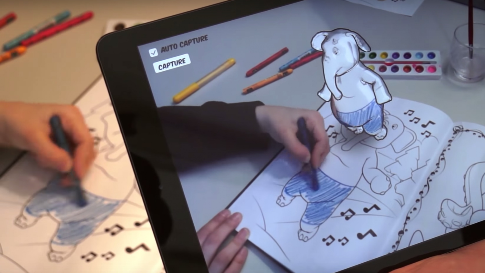 Interactive AR' color books launched by MediaNext – virtual coloring book