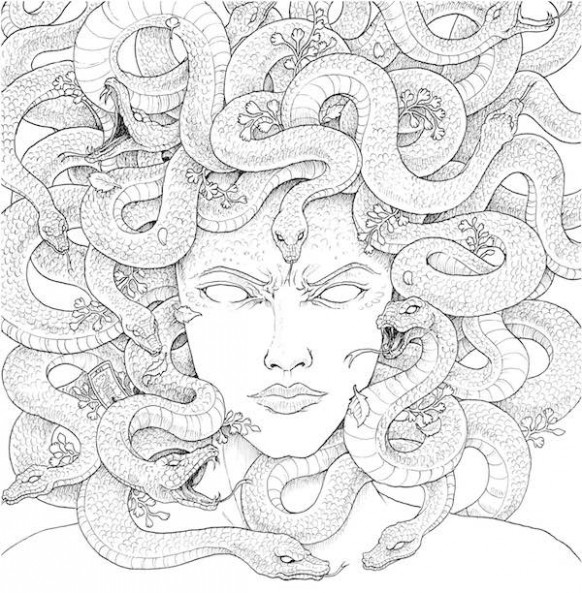 Into the Mythic With Mythomorphia: A Coloring Book for Adults ...