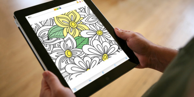 iPad Coloring Book Apps for Adults to Help You Relax  – ipad coloring book